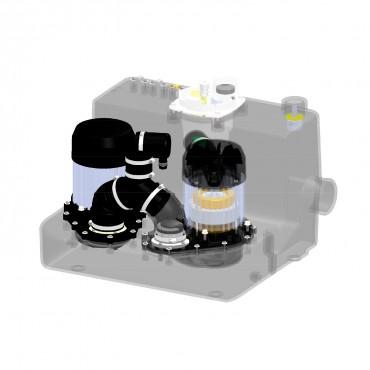 bomba águas cinzentas - SANICOM 2 - semitransparente
